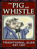 The Pig & Whistle Blikskilt