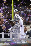 Super Bowl XLVII: Ravens vs 49ers - Ray Lewis Photographic Print by Ben Liebenberg