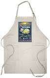 Key West, Florida - Key Lime Pie Apron Apron