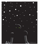 Stars in the Night Premium Giclee Print by Paul Cunha
