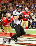 Dennis Pitta Touchdown Super Bowl XLVII Photo