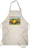 Bancroft, California, Mt. Diablo Fruit Farm Brand Pear Label Apron Apron