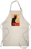 Montmarte, France - Chat Noir Cabaret Troupe Black Cat Promo Apron Apron