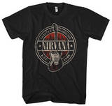 Nirvana - Established 1988 Guitar Stand Tシャツ