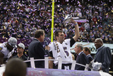 Super Bowl XLVII: Ravens vs 49ers - Joe Flacco Photographic Print by Ben Liebenberg