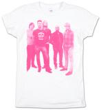 Juniors: Maroon 5 - Pink Halftone T-shirt