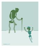 Granpappy Premium Giclee Print by Paul Cunha
