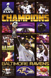 Baltimore Ravens Super Bowl XLVII Champions Celebration Photo