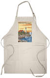 Portland Head Light - Portland, Maine Apron Apron