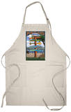 Portland, Oregon Destinations Sign Apron Apron