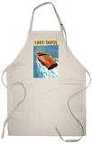 Lake Tahoe, California - Wooden Boat Apron Apron