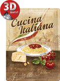 Cucina Italiana Blechschild