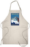 Timberline Lodge, Mt. Hood, Oregon Apron Apron