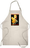 Paris, France - Loie Fuller at the Folies-Bergere Theatre Promo Apron Apron