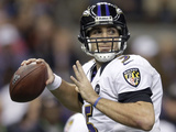Super Bowl XLVII: Ravens vs 49ers - Joe Flacco Photographic Print by Evan Vucci