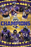 Baltimore Ravens Super Bowl XLVII Champions Prints
