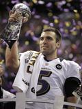 Super Bowl XLVII: Ravens vs 49ers - Joe Flacco Posters av Matt Slocum