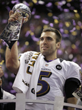Super Bowl XLVII: Ravens vs 49ers - Joe Flacco Prints by Matt Slocum