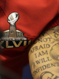 Super Bowl XLVII: Ravens vs 49ers - Colin Kaepernick Bilder av Mark Humphrey
