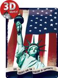 Statua Wolności Plakietka emaliowana