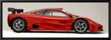 1996 McLaren F1 GTR Reproduction sur toile encadrée
