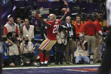 Super Bowl XLVII: Ravens vs 49ers - Frank Gore Photographic Print by Ben Liebenberg
