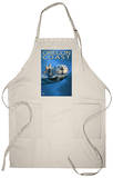 Oregon Coast Sea Otter Apron Apron