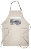Pan American China Clipper and San Francisco Skyline Photograph No.1 Apron Apron