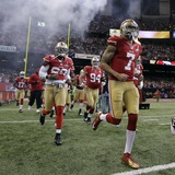 Super Bowl XLVII: Ravens vs 49ers - Colin Kaepernick Photo av Matt Slocum