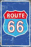 Route 66 Tin Sign