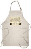 Great Smoky Mountains National Park - Panoramic Map Apron Apron