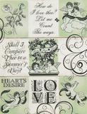 Love cherubs Wood Sign