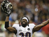 Super Bowl XLVII: Ravens vs 49ers - Ed Reed Photographic Print by Patrick Semansky