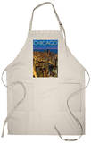 Chicago, Illinois, View of City from Sears Tower Apron Apron