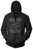 Zip Hoodie: Led Zeppelin - US 1977 Hættetrøje med lynlås