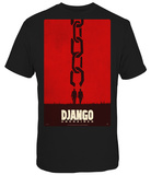Django Unchained - Poster Men Camisetas