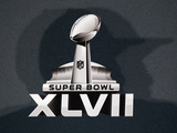 Super Bowl XLVII: Ravens vs 49ers - Ray Lewis silhouette - Logo Photo by Patrick Semansky