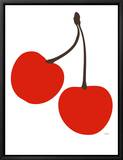 Cherry Framed Canvas Print by  Avalisa