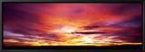 Sunset, Canyon De Chelly, Arizona, USA Innrammet lerretstrykk av Panoramic Images,