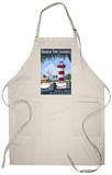 Hilton Head, South Carolina - Harbour Town Lighthouse Apron Apron