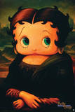 Betty Boop Mona Lisa Photo