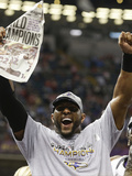 Super Bowl XLVII: Ravens vs 49ers - Ray Lewis Photo by Dave Martin