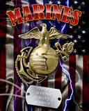 Marine Corps Plakietka emaliowana