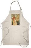 Brussels, Belgium - Robette Absinthe Advertisement Apron Apron