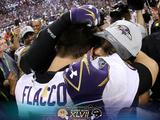Super Bowl XLVII: Ravens vs 49ers - Ravens Commemorative Photo Fotografisk trykk av Matt Slocum