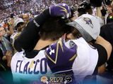 Super Bowl XLVII: Ravens vs 49ers - Ravens Commemorative Photo Photographic Print by Matt Slocum