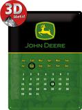 John Deere Kalender Plakietka emaliowana