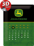 John Deere Kalender Blechschild