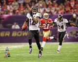 Jacoby Jones NFL postseason record 108-yard kickoff return Super Bowl XLVII Photo