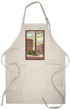 Pioneer Square Totem Pole, Seattle, Washington Apron Apron